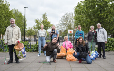 Terugblik: Opruimdag met Klein Haarlem