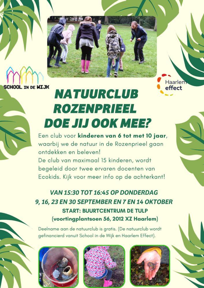 Natuurclub voor kinderen van 6 tot en met 10 jaar